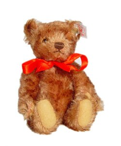 Steiff Brown Stuffed Teddy Bear