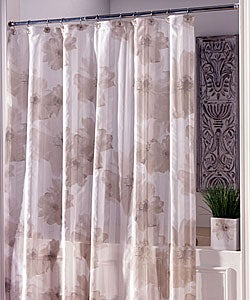 Champagne Poppies Shower Curtain