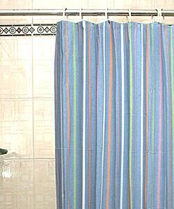 Shower Curtain Rod For Corner Shower Multicolor Herringbone S