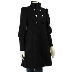 Miss Sixty Women's Patent Trim Walker Jacket