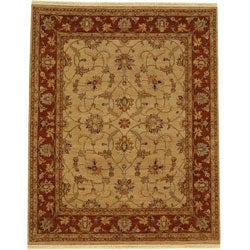 Hand-knotted Turkish Wool Rug (9' x 12')