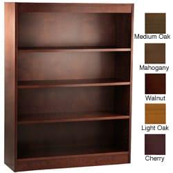 Ergocraft Laguna 4-Shelf Wood Veneer Bookcase