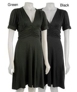 Pathway Short-sleeve Women's Empire Waist Dress
