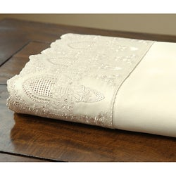 400 Thread Count Caprice Lace Sheet Set
