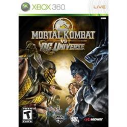 XBox 360 - Mortal Kombat vs. DC Universe