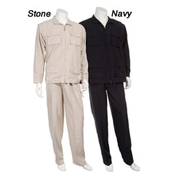 Majestic Men's 2-piece Microfiber Suit