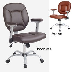 Brown Ergonomic Manager's Office Chair
