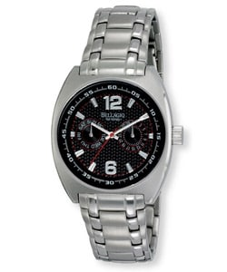 Bellagio Ticino Men's Day Date 5 ATM Steel Watch