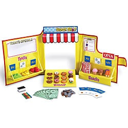 Pretend & Play Snack Shop 104-piece Toy Set