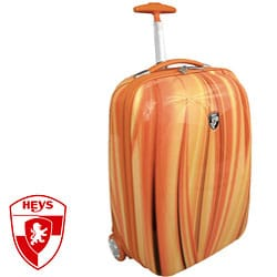 Heys XCase Exotic Polycarbonate 20-inch Orange Flow Carry-on