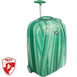 Heys XCase Exotic Polycarbonate 20-inch Green Flow Carry-on