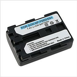 Li-Ion Battery for Sony NP-FM50 / NP-FM30