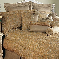 Golden Peacock 9-piece Comforter Set