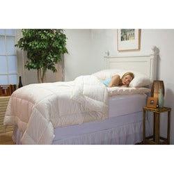 Organic Oversized King-size Comforter - Overstock™ Shopping - The ...: www.overstock.com/Bedding-Bath/Organic-Oversized-King-size...