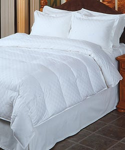 Euro Check 5-piece Down Comforter Set