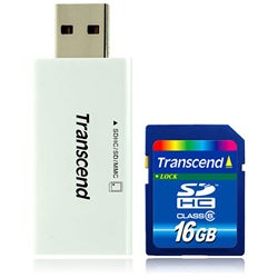 Transcend TS16GSDHC6 16GB Memory Card