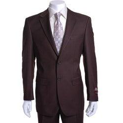 Giorgio Fiorelli Men's Brown 2-button Suit