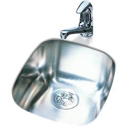 DeNovo Single Stainless Steel Undermount Bar Sink