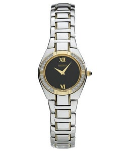Seiko Women's Two-tone Quartz Diamond Dress Watch