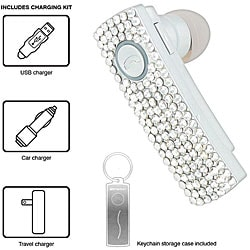 Emerson BTEM750BLING Bling Bluetooth Headset