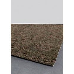 Hand-tufted Mandara Collection Jute Rug (5' x 7'6)
