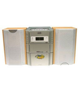 RCA RS2025 Microsystem With 3 CD Changer