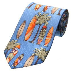 Tommy Bahama Men's Silk 'Surfboard' Tie