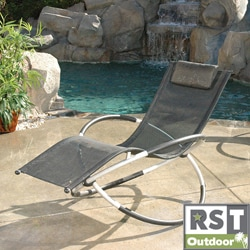 Aluminum Orbital Outdoor Lounger