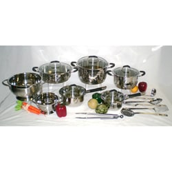 Ballington 19-piece High Quality Stainless Steel Cookware Set
