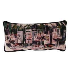 Wine Bottles Tapestry Pillows (Set of 2)