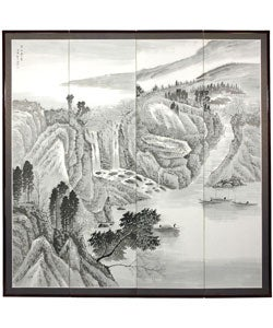 Large Misty Mountain Silkscreen (China)