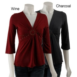 Simply Irresistible Women's 1/2-length Sleeve Top