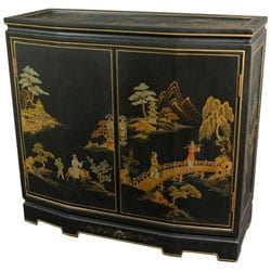 Japanese Slant Front Cabinet (China)