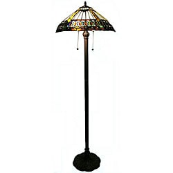 Tiffany-style Cob Floor Lamp
