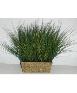 Artificial Seagrass Plant in Woven Basket