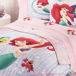 Disney's Little Mermaid Comforter and Sheet Set