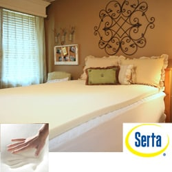 Serta Cool Memory Foam 2-inch Mattress Topper