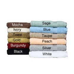 Luxurious Egyptian Cotton Towels 8-Piece Set