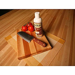 Maple Cutting Board/ Knife/ Elixir Set