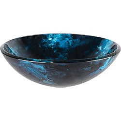 Kraus Boulder Opal Glass Vessel Sink