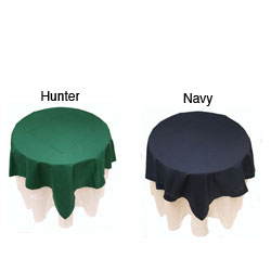 Hemstitched 36-inch Tablecloth Topper