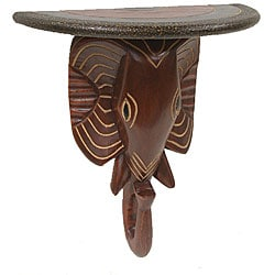 Handcrafted Elephant Wall Decoration (Ghana)