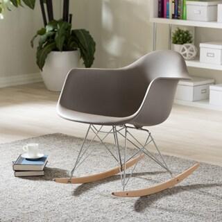 Vinnie Small White Cradle Chair