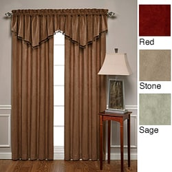 Mesa Thermal Mircrosuede 84-inch Curtain Panel Pair