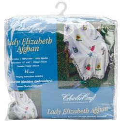 Lady Elizabeth Afghan Cross Stitch Kit