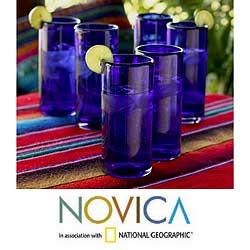 Hotel, Restaurant and Bar supplies-Handblown Mexican Glassware