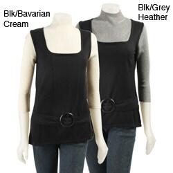 August Silk Women's Mock Turtleneck Sweater