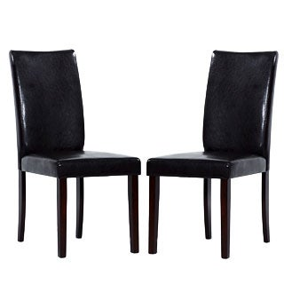 Shino Black Dining Chairs (Set of 2)
