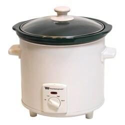 White Westinghouse WWSC3 3-Quart Slow Cooker (Refurbished)