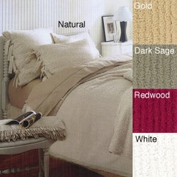 Tufted Cotton King Bedspread